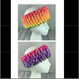 Accessories - Women's homemade reversible headband multicolored